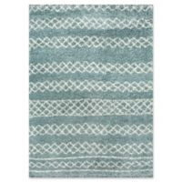 Momeni Maya Power-Loomed 9'3 x 12'6 Area Rug in Blue