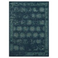 Loloi Rugs Journey Modern Medallion 9'2 x 12'2 Area Rug in Navy/Blue