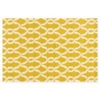 Loloi Rugs Venice Beach 9'3 x 13' Indoor/Outdoor Area Rug in Goldenrod