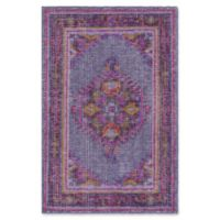Surya Zahra Classic 2' x 3' Accent Rug in Purple/Pink