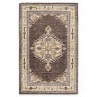 Surya Zahra Classic 2' x 3' Accent Rug in Brown/Grey