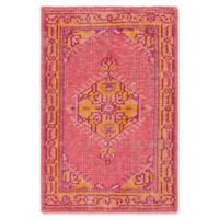 Surya Zahra Classic 2' x 3' Accent Rug in Pink
