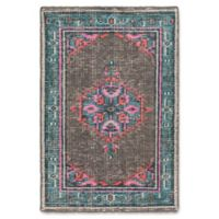 Surya Zahra Classic 2' x 3' Accent Rug in Grey/Blue