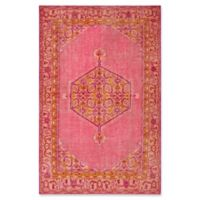 Surya Zahra Classic 5'6 x 8'6 Area Rug in Pink