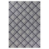 Libby Langdon Soho Copper Square 3'3 x 5'3 Area Rug in Iron