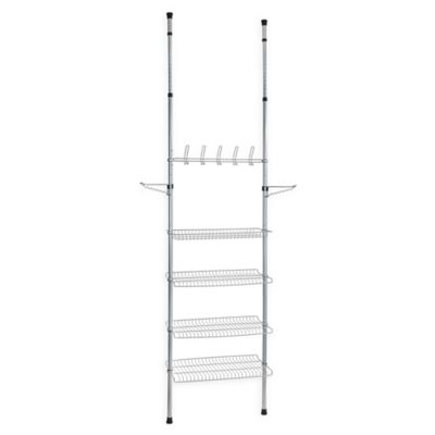 4f85cdeddf2d Apollon 3-Shelf Shoe Storage System in Grey/Black