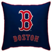 MLB Boston Red Sox Logo Throw Pillow