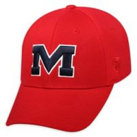 University Of Mississippi Premium Memory Fit™ 1Fit™ Hat in Red