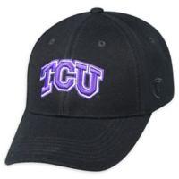 Texas Christian University Premium Memory Fit™ 1Fit™ Hat in Black