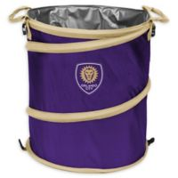 MLS Orlando City SC Collapsible 3-in-1 Cooler/Hamper/Wastebasket