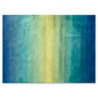 Loloi Rugs Madeline Loomed 7'7 x 10'5 Area Rug in Waterfall