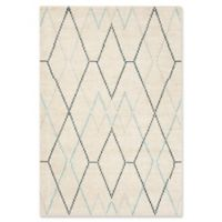 Safavieh Nicole Geometric 4' x 6' Area Rug in Ivory
