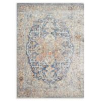 Magnolia Home by Joanna Gaines Ophelia 7'10 Round Area Rug in Blue/Multi