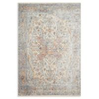 Magnolia Home by Joanna Gaines Ophelia Loomed 2'6 x 10' Area Rug in Ivory/Multi