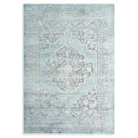 Magnolia Home by Joanna Gaines Ophelia 6'7 x 9'4 Area Rug in Grey/Aqua