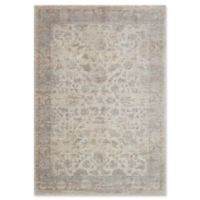 Magnolia Home by Joanna Gaines Ella Rose 9'3 Round Area Rug in Bone/Stone