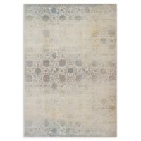 Magnolia Home by Joanna Gaines Ella Rose Loomed 6'7 x 9'2 Area Rug in Mist