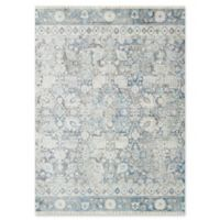Magnolia Home by Joanna Gaines Ophelia 9'6 Round Area Rug in Grey/Sky