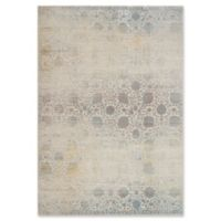 Magnolia Home by Joanna Gaines Ella Rose 9'3 Round Area Rug in Bone/Mist