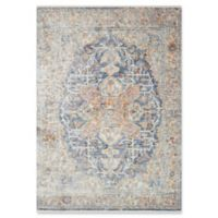 Magnolia Home by Joanna Gaines Ophelia 9'6 Round Area Rug in Blue/Multi