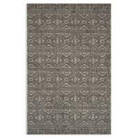 Magnolia Home by Joanna Gaines Warwick 7'10 x 10'9 Indoor/Outdoor Area Rug in Silver/Black