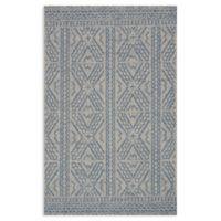Magnolia Home by Joanna Gaines Warwick 7'10 x 10'9 Indoor/Outdoor Area Rug in Silver/Azure