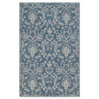 Magnolia Home by Joanna Gaines Warwick 2' x 3'9 Indoor/Outdoor Accent Rug in Azure/Grey