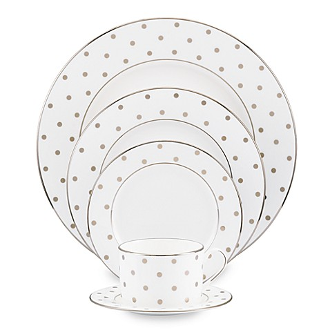 kate spade new york Larabee Road™ Platinum Dinnerware Collection - Bed Bath u0026 Beyond  sc 1 st  Bed Bath u0026 Beyond & kate spade new york Larabee Road™ Platinum Dinnerware Collection ...