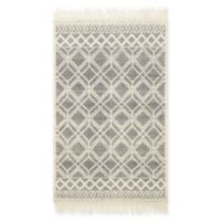 Magnolia Home by Joanna Gaines Holloway 2'3 x 3'9 Accent Rug in Black/Ivory