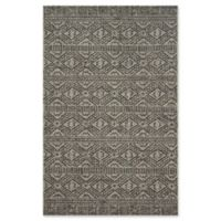 Magnolia Home by Joanna Gaines Warwick 9'2 x 12'1 Indoor/Outdoor Area Rug in Silver/Black