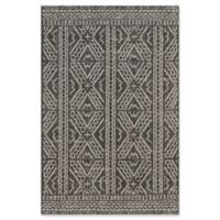 Magnolia Home by Joanna Gaines Warwick 9'2 x 12'1 Indoor/Outdoor Area Rug in Black/Silver