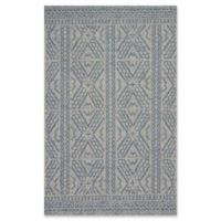 Magnolia Home by Joanna Gaines Warwick 9'2 x 12'1 Indoor/Outdoor Area Rug in Silver/Azure