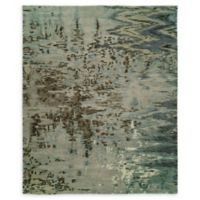 Natori® Dynasty Mirage 9' x 12' Hand-Knotted Area Rug in Blue
