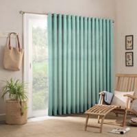 Parasol Key Largo 84-Inch Grommet Indoor/Outdoor Patio Door Panel in Aqua