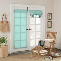 Parasol Key Largo 68-Inch Grommet Indoor/Outdoor French Door Panel in Aqua