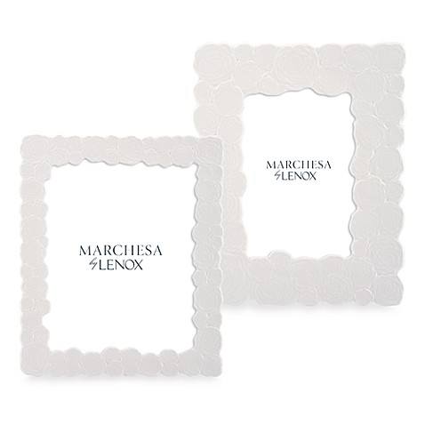 Marchesa by Lenox® Rose 8-Inch x 10-Inch China Photo Frame
