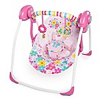 Bright Starts™ The Pretty in Pink™ Butterfly Cutouts™ Portable Swing