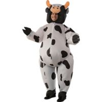 Inflatable Cow One-Size Adult Halloween Costume