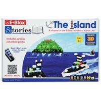 E-Blox® Stories™ The Island 100-Piece Electronic LED Building Block and Storybook Set