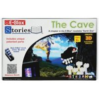 E-Blox® Stories™ The Cave 100-Piece Electronic LED Building Block and Storybook Set