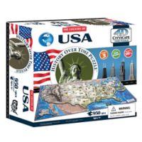 4D Cityscape Time USA Puzzle