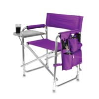 Picnic Time® Folding Sports Chair in Purple