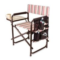 Picnic Time® Folding Sports Chair in Mocha