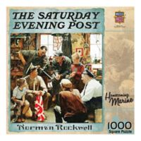 Masterpieces Puzzles Saturday Evening Post 1000-Piece Homecoming Marine Jigsaw Puzzle