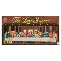 Masterpieces Puzzles 1000-Piece The Last Supper Panorama Jigsaw Puzzle