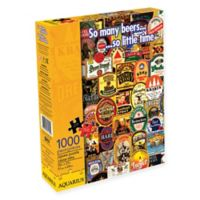 Aquarius So Many Beers 1000-Piece Jigsaw Puzzle