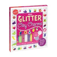 Klutz® Make Glitter Clay Charms