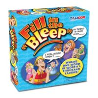 Talicor™ Fill in the Bleep