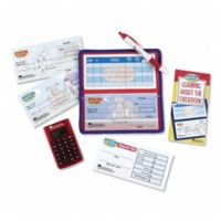 Learning Resources® Checkbook with Calculator Pretend Play Set