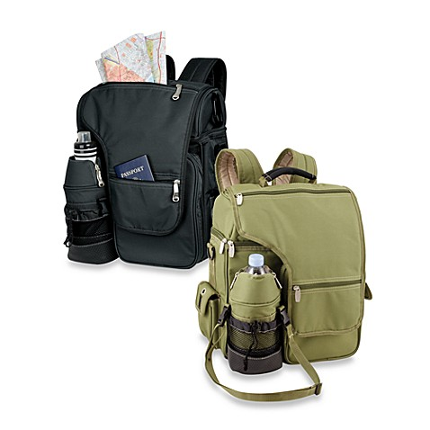 Picnic Time 174 Turismo Insulated Backpack Cooler Bed Bath